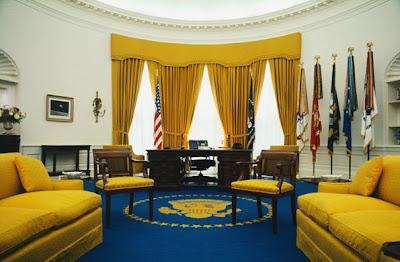 Det ovala rummet enligt Nixon.