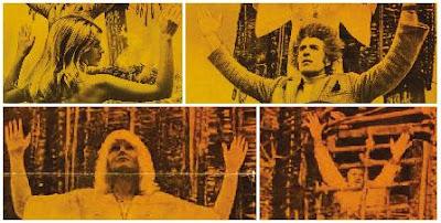 Armarna uppåt sträck.