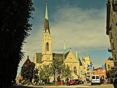 Oscarskyrkan i Stockholm.