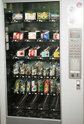 Marijuana Vending Machine in California