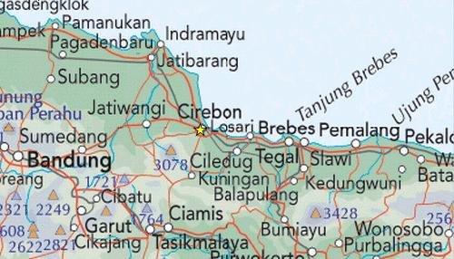 Peta Cirebon