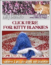 Peggy's Kitty Blankets!