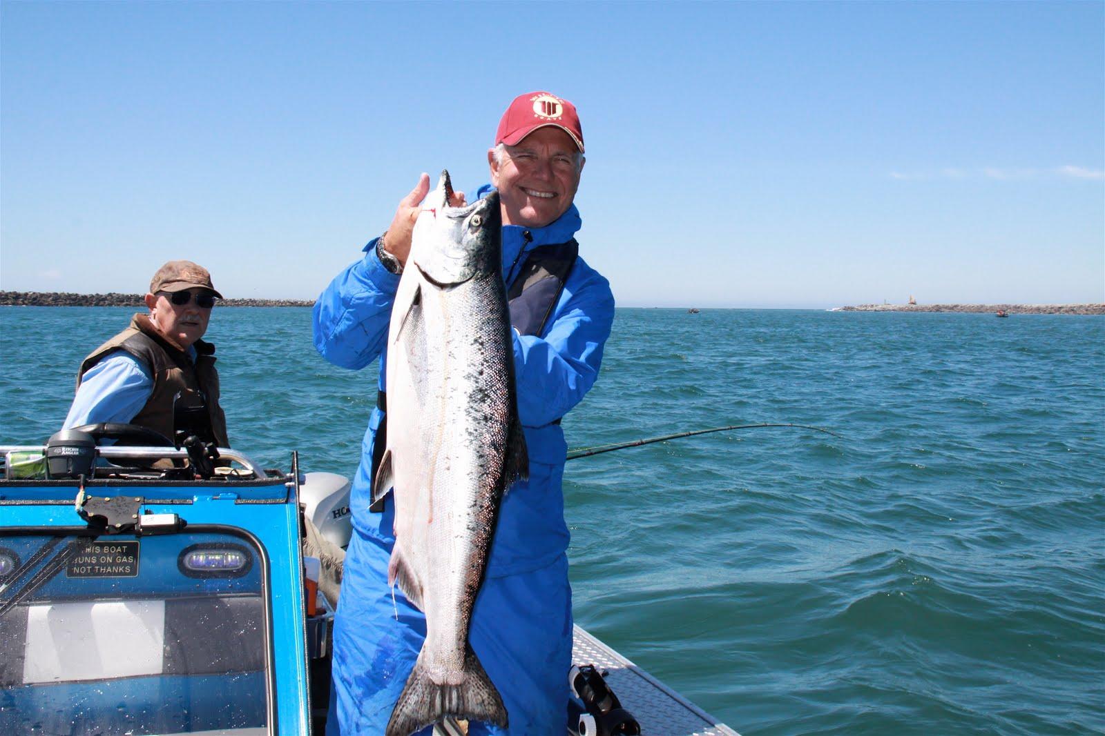 Stoney the fisherman tillamook bay spring chinook for Tillamook bay fishing