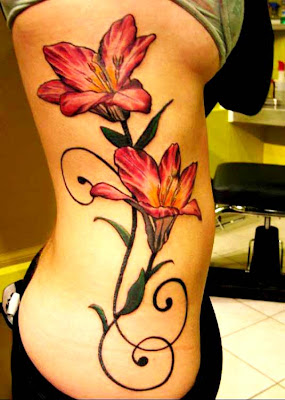 Tatuagem Flores