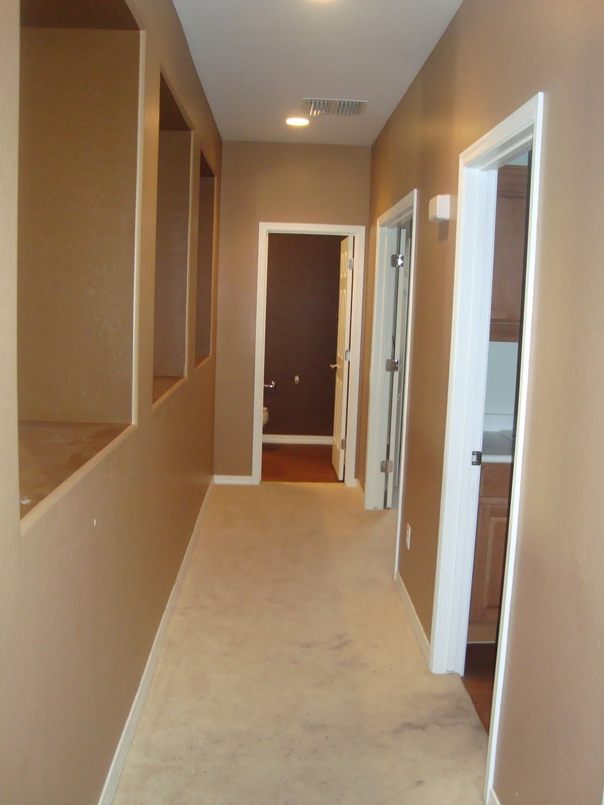 Hallways. Bringing the outside in! | Just Destiny