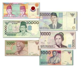 Indonesische Banknoten