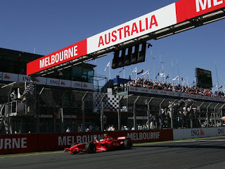First race of the season-Melbourne 2008
