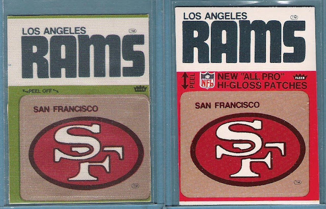 San Francisco 49ers 1976 Logo Patch