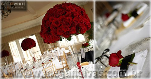 Olha Este Arranjo Cheio De Rosas Vermelhas  Observe Que Os Arranjos