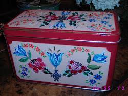 cajas decoradas con acrílicos