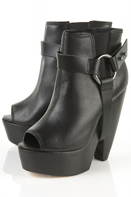 Design Andi Clog Stirrup Ankle Boots by Topshop