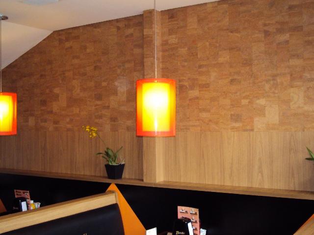 Seu estilo artigos para decora es papel de parede de corti a - Placas para decorar paredes ...