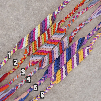 over sized friendship bracelets