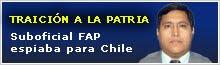 Crónicas sobre el caso del espionaje a Perú