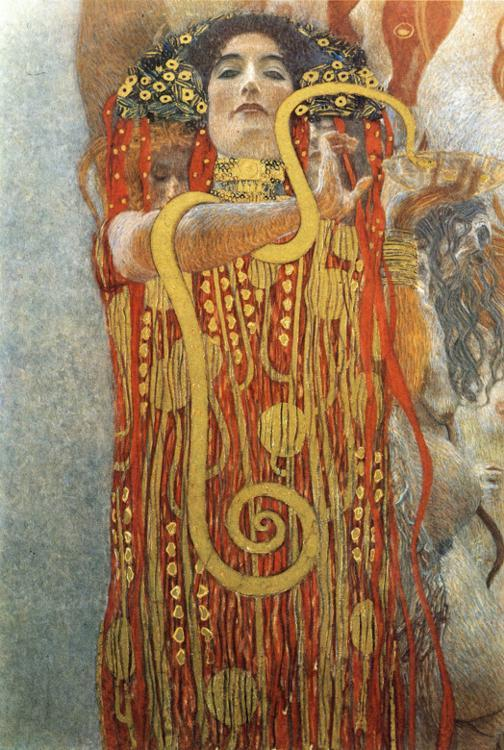 This Woman Is Dangerous: Klimt, Medicin, 1898/1907