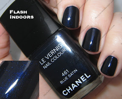 bluesatinflash The Next Big Thing   Chanel Blue Satin