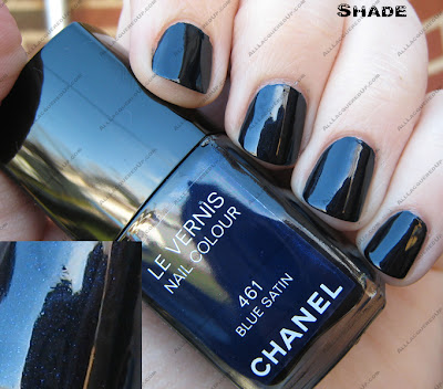bluesatinshade The Next Big Thing   Chanel Blue Satin