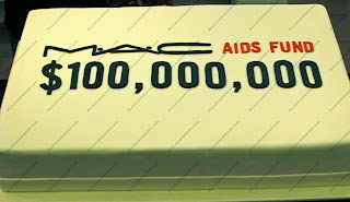 macaidsfundcake NYC Beauty Tour   MAC AIDS Fund Celebration
