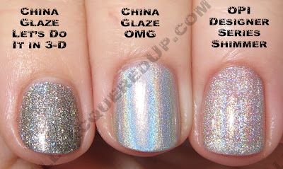 3dshimmerflash China Glaze OMG 2BKEWL Comparisons