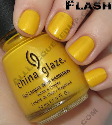 solarpowerflash China Glaze Spring 2008   Ecollection