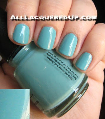 foraudrey2 NOTD   China Glaze For Audrey