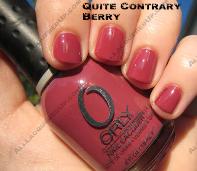 quitecontraryberry Orly Neue Neutrals