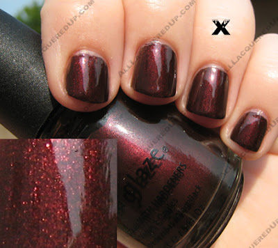 10 China Glaze X Collection