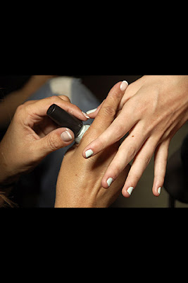 karenwalker NY Fashion Week Nail Watch   Karen Walker