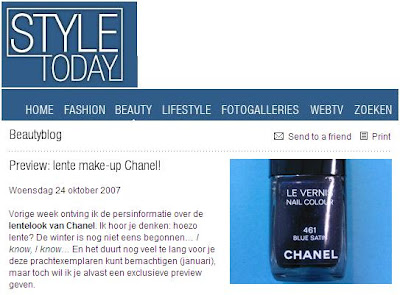  Coming Soon   Chanel Blue Satin