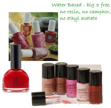 "waterbased Go Green   ""Healthier"" Polish"