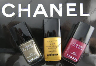 chanel nail colour fall 2008 Chanel Fall 2008   Gold Fiction & Company