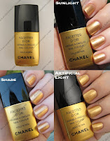 Chanel Fall 2008 Gold Fiction
