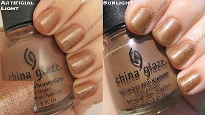 china glaze, fall 2008, nail polish, nail lacquer, nail color, rodeo diva, golden spurs