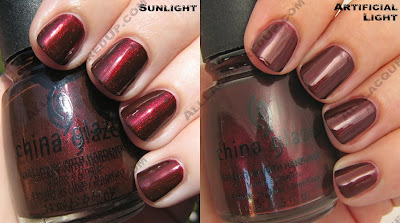 china glaze rodeo diva fall 2008 branding iron China Glaze Rodeo Diva   Flannel Fixation