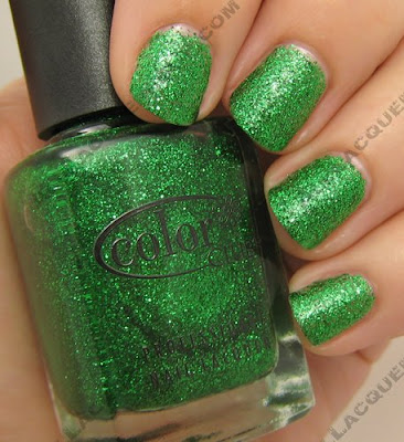 color club, glitter vixen, object of envy, fall 2008, nail polish, nail lacquer, nail color, nail colour, manicure, pedicure
