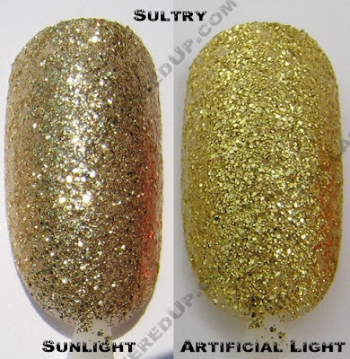 color club, glitter vixen, sultry, fall 2008, nail polish, nail lacquer, nail color, nail colour, manicure, pedicure