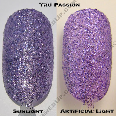 color club, glitter vixen, tru passion, fall 2008, nail polish, nail lacquer, nail color, nail colour, manicure, pedicure