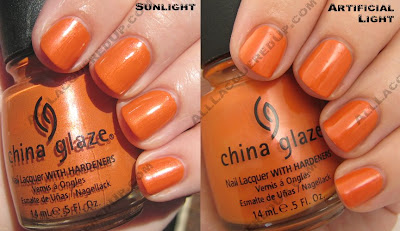 china glaze operation colour code orange fall 2008 China Glaze Operation Colour for Fall 2008