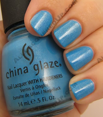 china glaze, bahama blues, winter 2008, nail polish, nail lacquer, nail color, nail colour, blue, caribbean blue