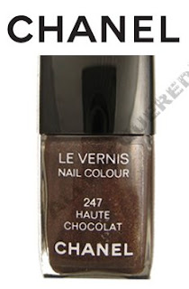 chanel, haute chocolat, holiday 2008, nail colour, nail color, nail polish, nail lacquer, hot chocolate, haute chocolate