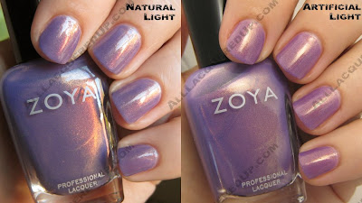 Zoya flourish swatches for holiday 2008 all lacquered up while zoya describes this shade as periwinkle i see it as violet no matter how you call it this icy purple shade is totally unique reheart Gallery