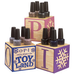 opi, holiday in toyland, holiday 2008, winter 2008, nail polish, nail lacquer, nail color, nail trends