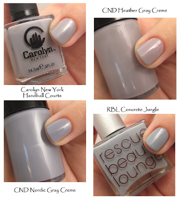 nail trend fall 2008 light gray Fall Nail Trend Alert   Smoky Tips