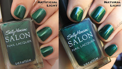 sally hansen emerald ring green nail polish Sally Hansen Sent Me To Green Heaven