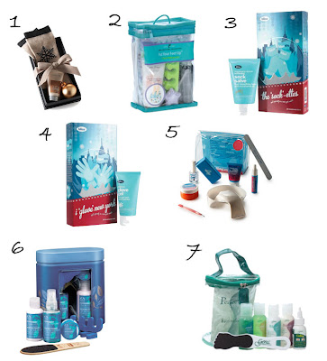 holiday 2008 manicure pedicure gift sets Nail Fanatic Gift Guide   Hands, Feet, Body &amp; More