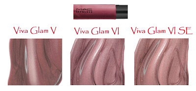 viva glam lipglass As Amazing As Polish   MAC Viva Glam