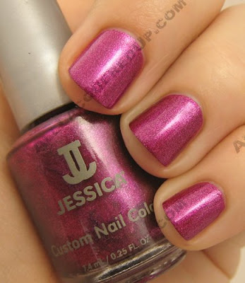 jessica nail nutcracker sweet lilac snowflake Jessica Custom Nail Colour   Holiday Petites