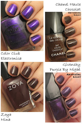 holiday 2008 purple brown givenchy chanel haute chocolate Gift Guide   The 21 Hottest Holiday Polishes