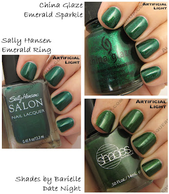 holiday 2008 green china glaze sally hansen barielle Gift Guide   The 21 Hottest Holiday Polishes