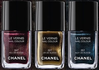 Chanel Moscow Nail Colour Collection | All Lacquered Up : All ...